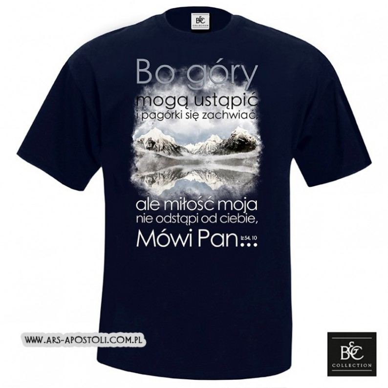 "Koszulka męska ""Bo góry"